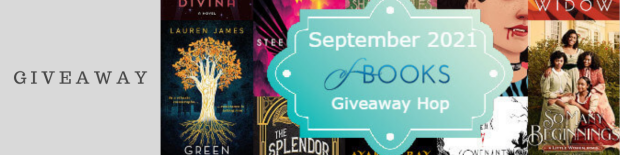September 2021 New Release Book Giveaway