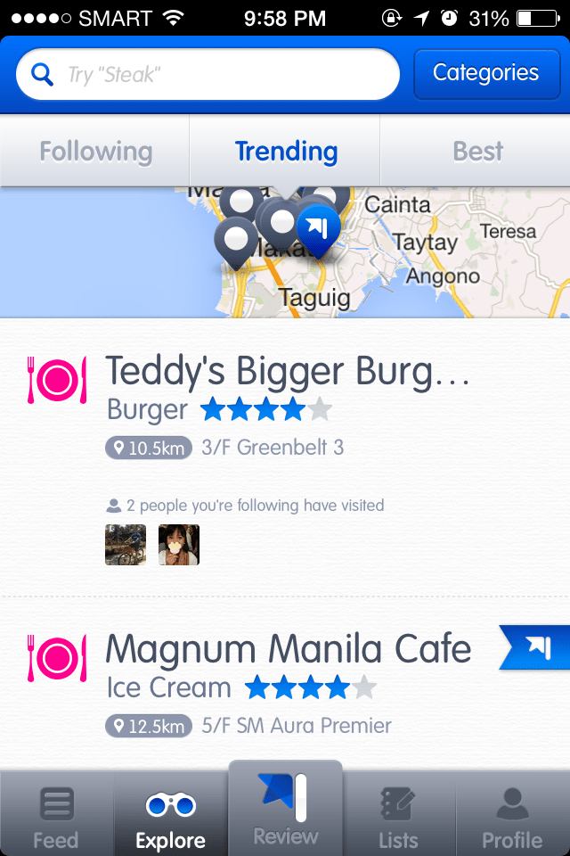 Looloo for finding the best restaurants in Manila