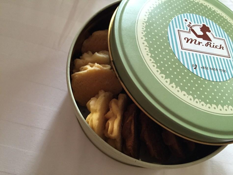 Mr Rich Bakery Hong Kong butter cookies