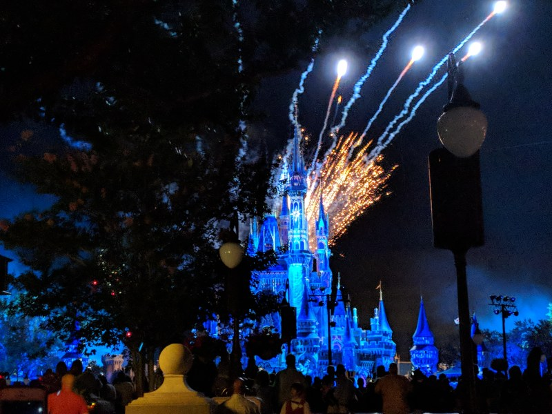 disney orlando florida magic kingdom fireworks 3