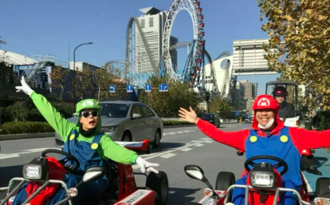 Akihabara Tokyo Mario Go Kart 1