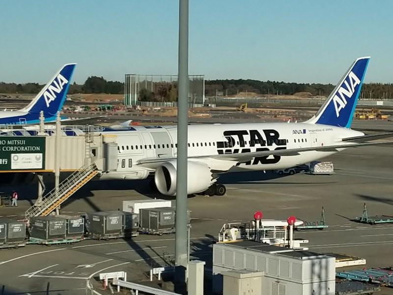 ANA Economy Class Tokyo Narita Airport 5