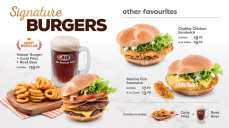 A&W Singapore Jewel Changi menu