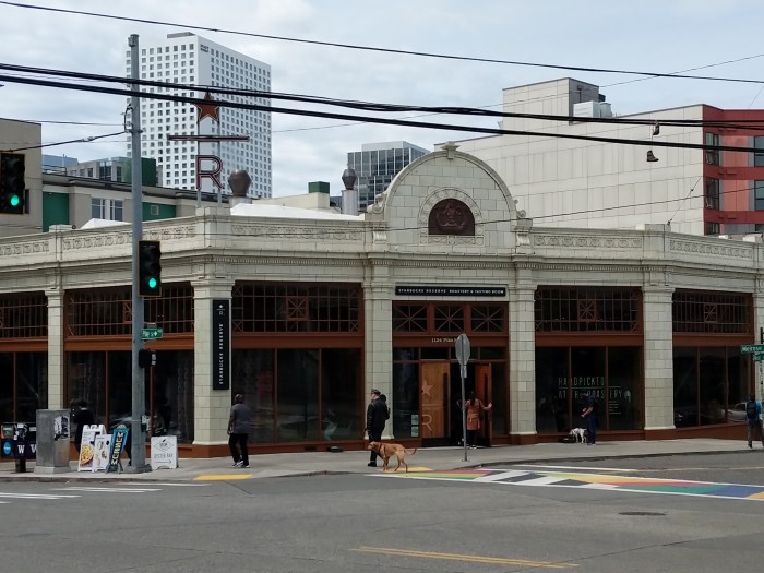 Starbucks Roastery and Tasting Room Seattle 9