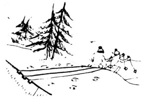 Ski fond FC 67