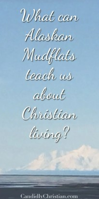 What can Alaskan Mudflats teach us about Christian living? Find out in this post.
