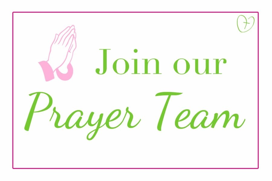 Join our prayer team