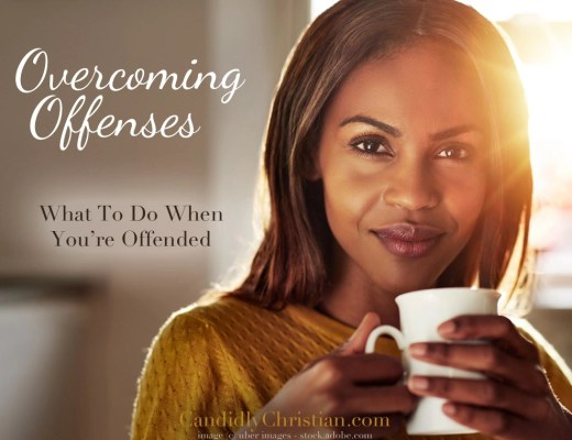 What to do when we're offended