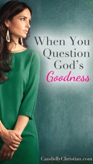 God's Goodness
