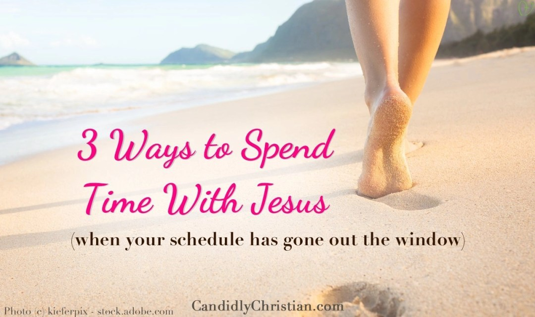 3 Ways to Spend Time With Jesus This Summer