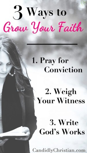 3 Steps to Spiritual Growth