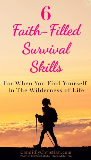 6 Faith-Filled Survival Skills For When You Find Yourself In The Wilderness of Life