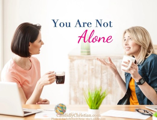 You are not alone...