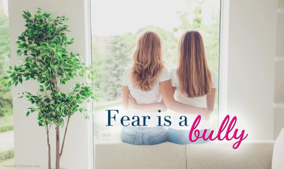 Fear is a bully (but God is stronger)