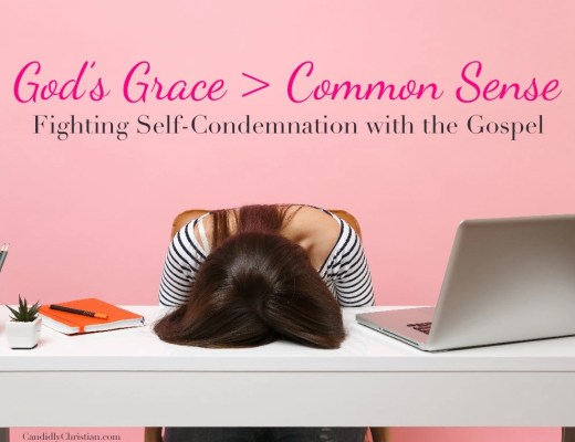 Fighting self-condemnation with the gospel