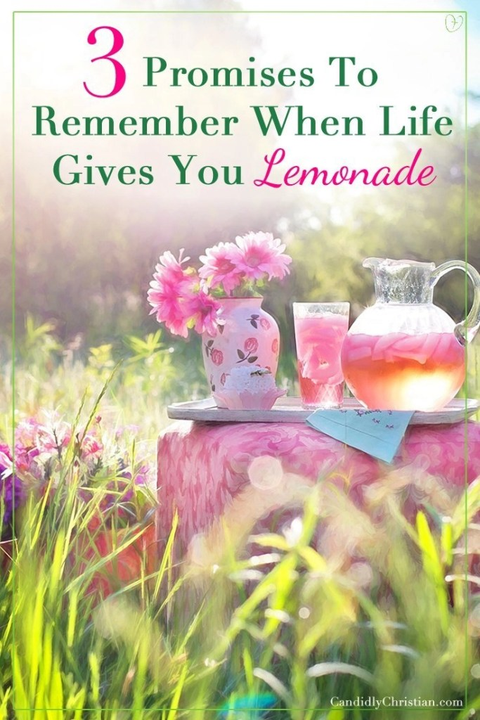 3 promises to remember when life gives you lemonade