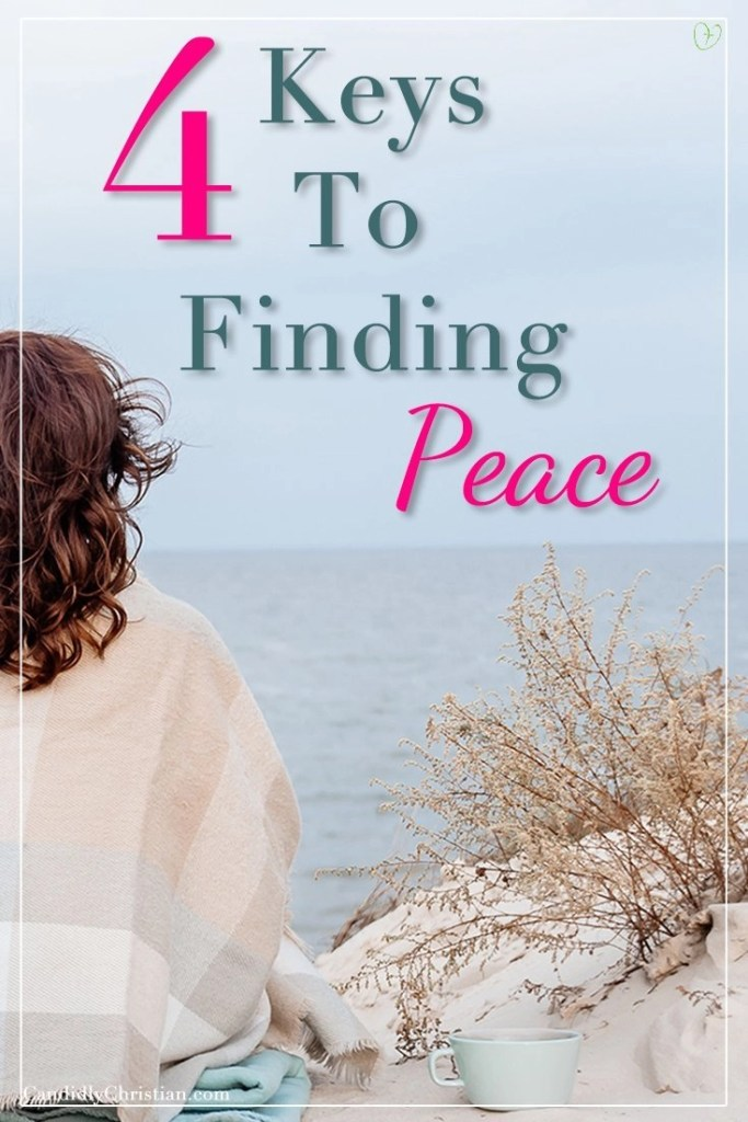 Four keys to finding peace