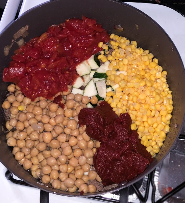 Add the vegetables