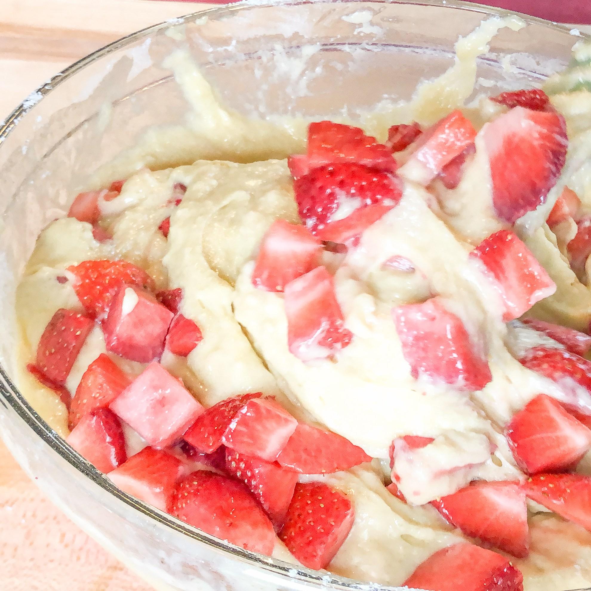 Summer Strawberry Muffins