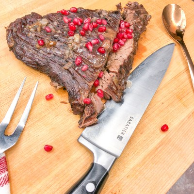 Pomegranate Red Wine Brisket