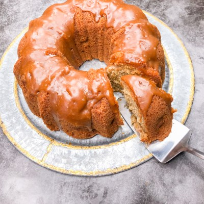 Lotus Apple Bundt Cake