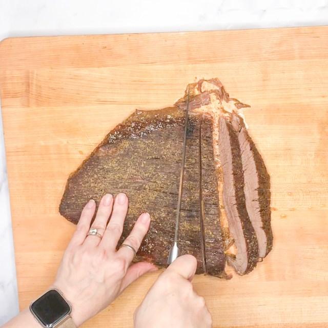 Slice against the grain
