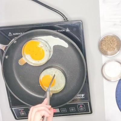 Break yolks