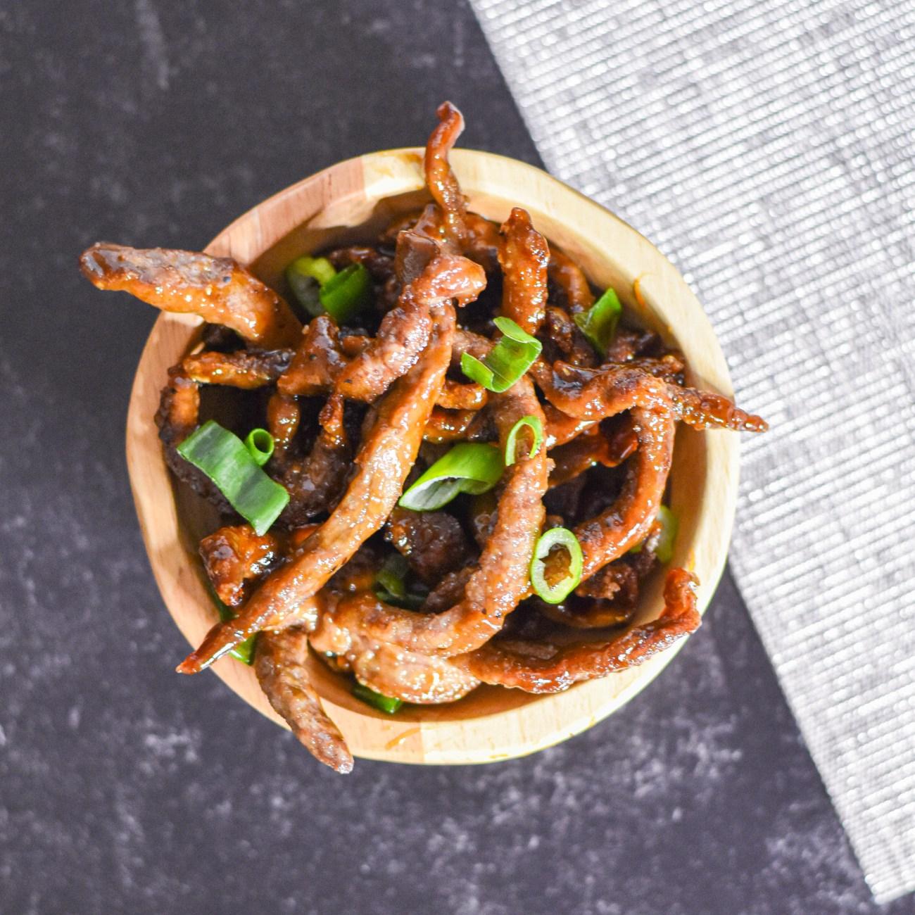 Chinese Crispy Beef