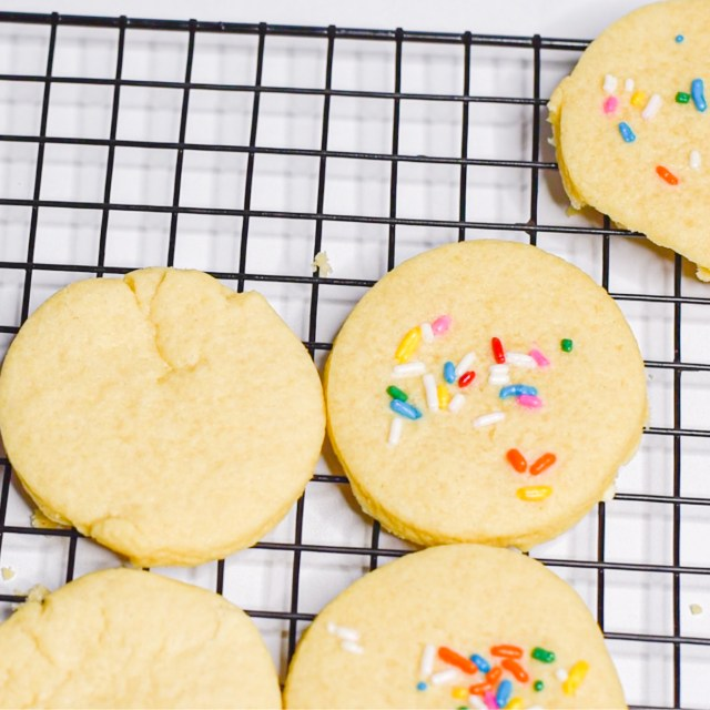 Soft Sugar Cookies by Candidly Delicious are Dairy-free, Vegetarian, Bake from Scratch Cutout Cookies.