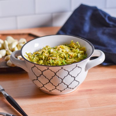 Garlic Brussel Sprouts by Candidly Delicious