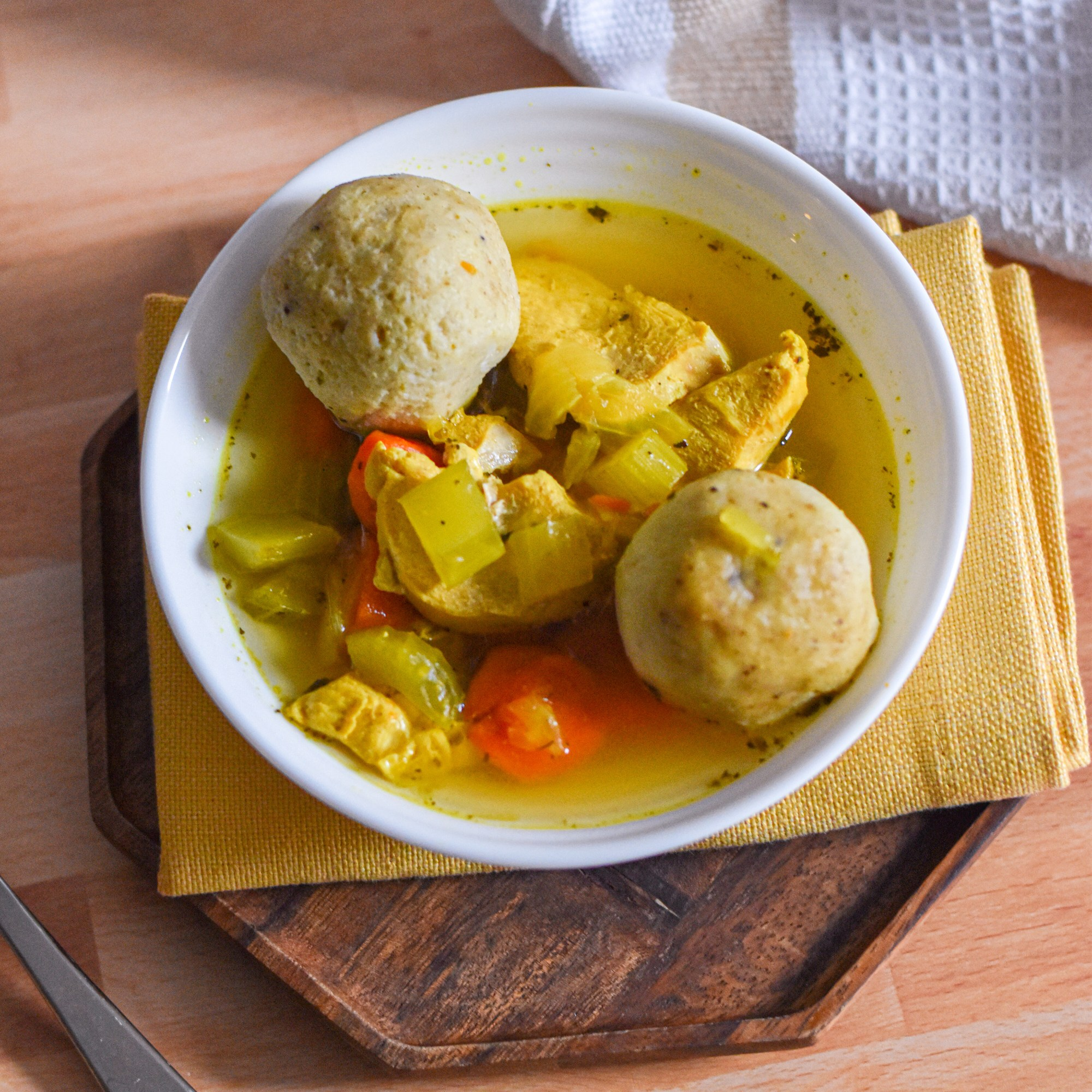 Ultimate Matzo Ball Soup by Candidly Delicious
