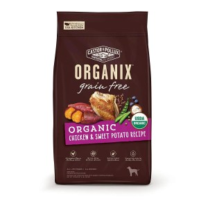 best organic dog food Castor & Pollux Organix Grain Free Organic Dry Dog Food