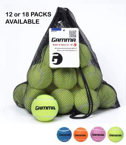 Pressureless Tennis Balls Gamma Bag