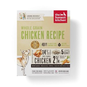 Best organic dog food Honest Kitchen Human Grade Dehydrated Organic Dog Food Box