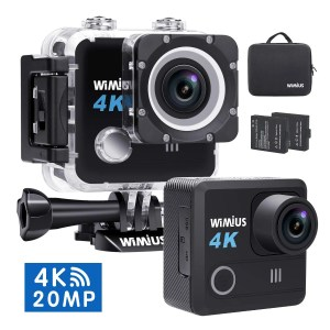 WiMiUS Sports waterproof camera under 100