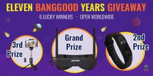 Eleven Banggood Years Giveaway [Ends 9/27]