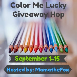 Color Me Lucky Giveaway Hop ~ $15 Amazon Gift Card [Ends 9/15]