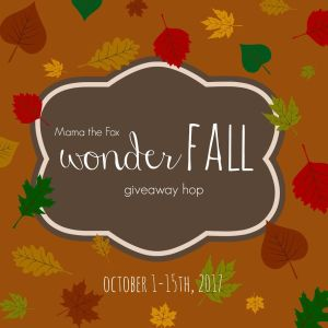 WonderFALL Giveaway Hop ~ $50 Best Buy Gift Card [Ends 10/15]