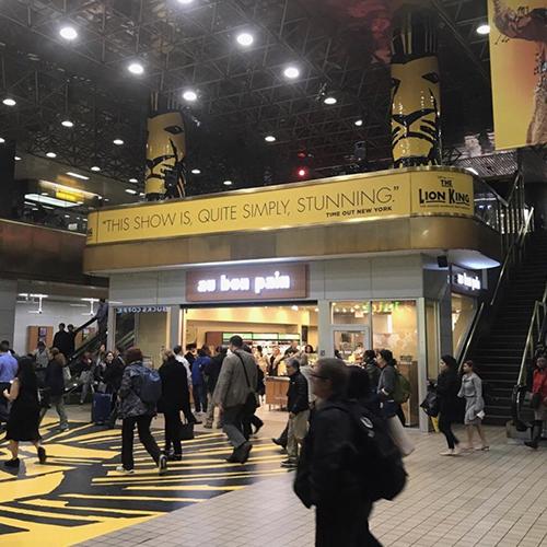 Lion King Station Domination