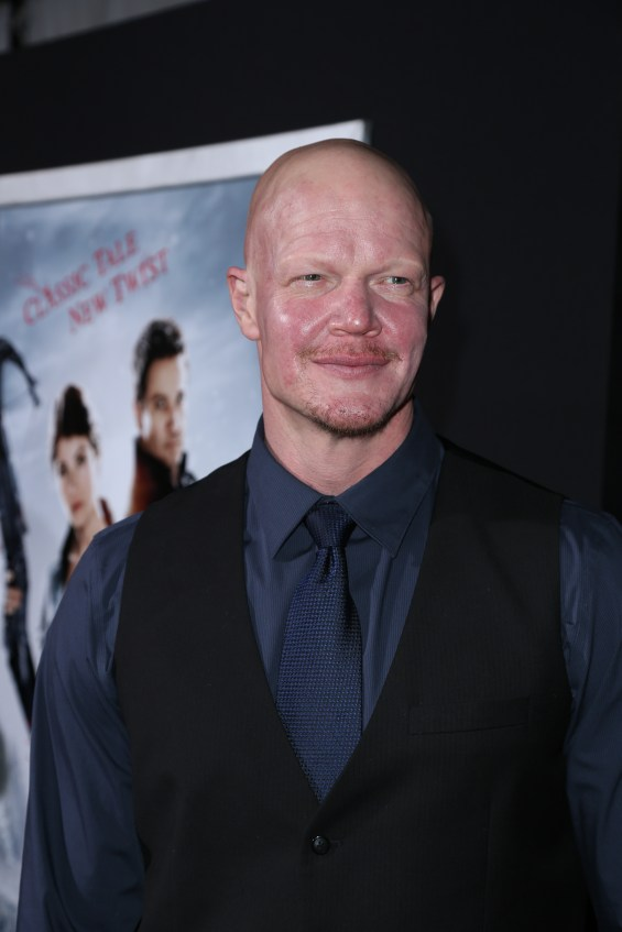 "Derek Mears attends the Los Angeles premiere of ""Hansel and Gretel Witch Hunters"" held at Grauman's Chinese Theatre on Thursday, January 24, 2013 in Hollywood, Calif. (Photo by Alex J. Berliner/ABImages)"