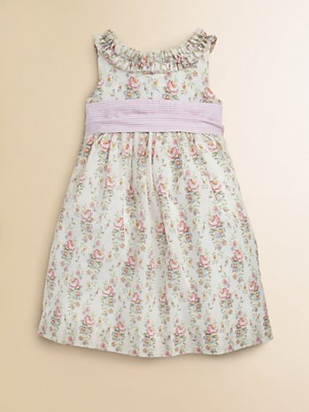 Easter Ralph Lauren Toddler's & Little Girl's Floral Seersucker Dress