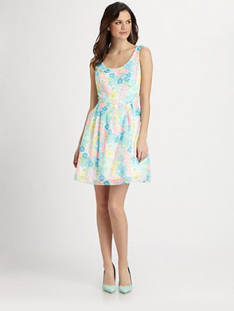 Lilly Pulitzer Floral print Posey Dress. Saks.com