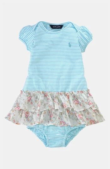 Ralph Lauren Stripe Dress & Bloomers (Infant). Nordstrom Easter