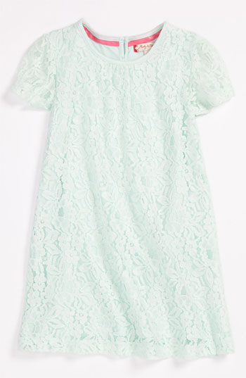 Ruby & Bloom 'Paulina' Lace Dress (Toddler) in Green Moon (Mint). Nordstrom Easter