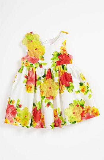 Iris & Ivy Floral Shantung Dress (Toddler) 2T - 4T. Nordstrom Easter