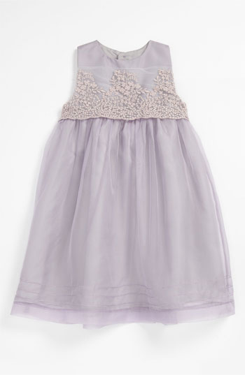 Luli & Me Organza Dress (Toddler) in Lilac. Nordstrom Easter