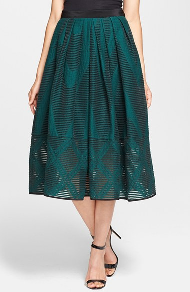 fashion 16 trendy midi skirts in every style print and