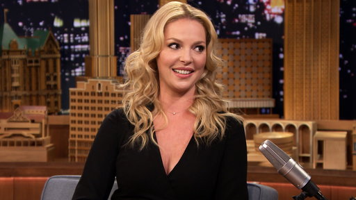 """NBC """"State of Affairs"""" star Katherine Heigl chats with Jimmy Fallon on """"The Tonight Show"""" about her new hit show which took three years to develop!"""