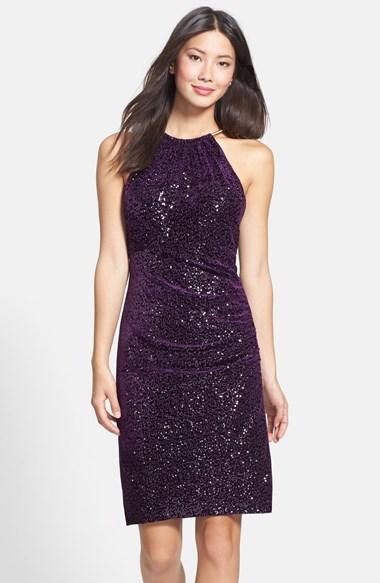 Fashion Bid 2014 Adieu In A Glam Sequin Dress On New Year