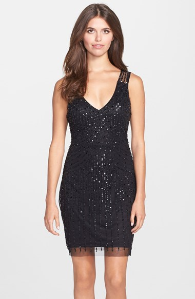 Fashion Bid 2014 Adieu In A Glam Sequin Dress On New Year